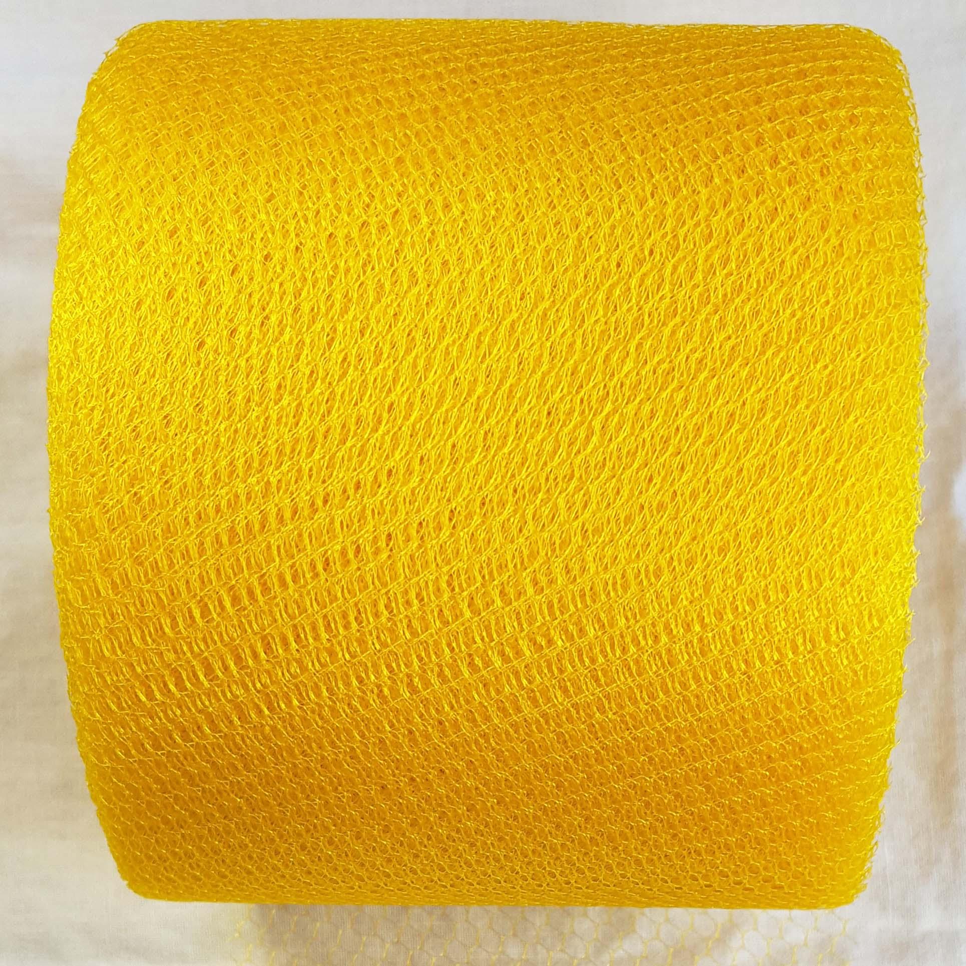 golden yellow netting